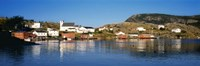 """Fishing village on an island, Salvage, Newfoundland, Newfoundland and Labrador, Canada by Panoramic Images - 27"""" x 9"""", FulcrumGallery.com brand"""