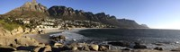 """Camps Bay with the Twelve Apostles in the background, Western Cape Province, South Africa by Panoramic Images - 27"""" x 9"""", FulcrumGallery.com brand"""