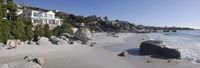 """Buildings at the waterfront, Clifton Beach, Cape Town, Western Cape Province, South Africa by Panoramic Images - 27"""" x 9"""""""