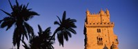 """Low angle view of a tower, Torre De Belem, Belem, Lisbon, Portugal by Panoramic Images - 27"""" x 9"""", FulcrumGallery.com brand"""