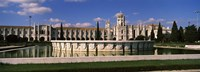 "Facade of a monastery, Mosteiro Dos Jeronimos, Lisbon, Portugal by Panoramic Images - 27"" x 9"""