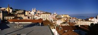Roof Top View Alfama Lisbon Portugal