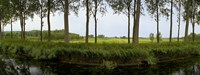 """Channel passing through a landscape from Brugge to Damme, Belgium by Panoramic Images - 27"""" x 9"""" - $28.99"""