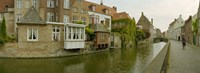"""Bruges, West Flanders, Belgium by Panoramic Images - 27"""" x 9"""""""