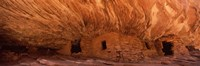 """House Of Fire in orange, Anasazi Ruins, Mule Canyon, Utah, USA by Panoramic Images - 27"""" x 9"""", FulcrumGallery.com brand"""