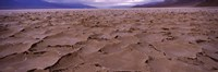 """Textured salt flats, Death Valley National Park, California, USA by Panoramic Images - 27"""" x 9"""""""