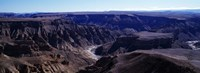 "Fish River Canyon, Namibia by Panoramic Images - 27"" x 9"""