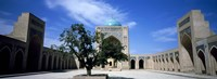 "Courtyard of a mosque, Kalon Mosque, Bukhara, Uzbekistan by Panoramic Images - 27"" x 9"""
