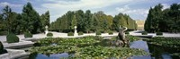 """Fountain at a palace, Schonbrunn Palace, Vienna, Austria by Panoramic Images - 27"""" x 9"""", FulcrumGallery.com brand"""