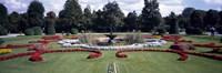 "Fountain in a garden, Belvedere Garden, Vienna, Austria by Panoramic Images - 27"" x 9"", FulcrumGallery.com brand"
