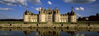 "Facade of a castle, Chateau De Chambord, Loire Valley, Chambord, Loire-Et-Cher, France by Panoramic Images - 27"" x 9"""