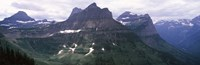 "Mountain range, US Glacier National Park, Montana, USA by Panoramic Images - 27"" x 9"""