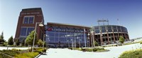 """Facade of a stadium, Lambeau Field, Green Bay, Wisconsin, USA by Panoramic Images - 27"""" x 11"""""""