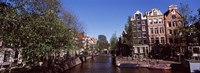 Buildings in a city, Amsterdam, North Holland, Netherlands Fine Art Print
