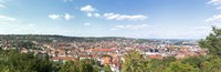 """Buildings in a city, Stuttgart, Baden-Wurttemberg, Germany by Panoramic Images - 27"""" x 9"""""""