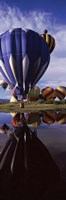 """Big Blue Balloon, Hot Air Balloon Rodeo, Steamboat Springs, Routt County, Colorado, USA by Panoramic Images - 9"""" x 27"""""""