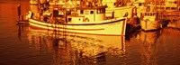 "Fishing boats in the bay, Morro Bay, San Luis Obispo County, California (horizontal) by Panoramic Images - 27"" x 9"" - $28.99"