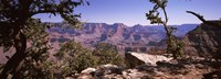 "Mountain range, South Rim, Grand Canyon National Park, Arizona by Panoramic Images - 27"" x 9"""