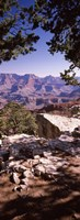 """Rock formations, Mather Point, South Rim, Grand Canyon National Park, Arizona, USA by Panoramic Images - 9"""" x 27"""""""