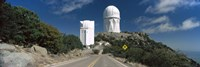 """Road leading to observatory, Kitt Peak National Observatory, Arizona, USA by Panoramic Images - 27"""" x 9"""""""