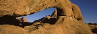 """Natural arch on a mountain, Spitzkoppe, Namib Desert, Namibia by Panoramic Images - 27"""" x 9"""" - $28.99"""