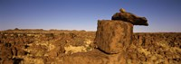 """Rocks at Devil's Playground, Namibia by Panoramic Images - 27"""" x 9"""", FulcrumGallery.com brand"""