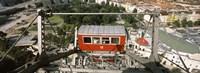 "Ferris wheel car, Prater Park, Vienna, Austria by Panoramic Images - 27"" x 9"" - $28.99"