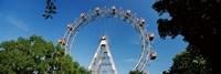 Prater Park Ferris wheel, Vienna, Austria Fine Art Print