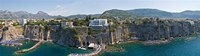 """Town on a cliff, Sorrento, Naples, Campania, Italy by Panoramic Images - 27"""" x 8"""""""