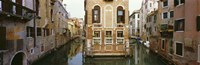 """Buildings along a canal, Grand Canal, Venice, Veneto, Italy by Panoramic Images - 27"""" x 9"""""""