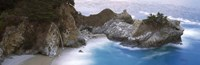 """Rocks on the beach, Julia Pfeiffer Burns State Park, Big Sur, California by Panoramic Images - 27"""" x 9"""""""