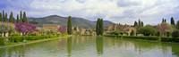 """Pond at a villa, Hadrian's Villa, Tivoli, Lazio, Italy by Panoramic Images - 27"""" x 9"""""""