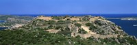 """Island in the sea, Capo D'Orso, Sardinia, Italy by Panoramic Images - 27"""" x 9"""""""