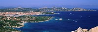 """Island in the sea, Capo D'Orso, Palau, Sardinia, Italy by Panoramic Images - 27"""" x 9"""""""
