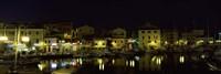 Boats at a harbor, La Maddalena, Arcipelago Di La Maddalena National Park, Sardinia, Italy Fine Art Print