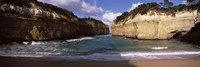 """Rock formations in the ocean, Loch Ard Gorge, Port Campbell National Park, Great Ocean Road, Victoria, Australia by Panoramic Images - 27"""" x 9"""" - $28.99"""