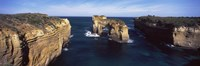 """Rock formations in the ocean, Campbell National Park, Great Ocean Road, Victoria, Australia by Panoramic Images - 27"""" x 9"""" - $28.99"""