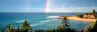 """Rainbow over the sea by Panoramic Images - 27"""" x 9"""" - $28.99"""