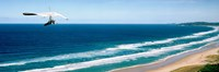 """Hang glider over the sea by Panoramic Images - 27"""" x 9"""""""