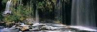"""Waterfall in Dunsmuir, Siskiyou County, California by Panoramic Images - 27"""" x 9"""""""