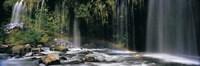Waterfall in Dunsmuir Siskiyou County California