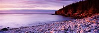 """Sunset over the coast, Acadia National Park, Maine by Panoramic Images - 27"""" x 9"""""""