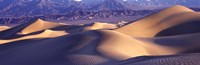 "Sand Dunes and Mountains, Death Valley National Park, California by Panoramic Images - 27"" x 9"""