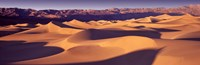 "Orange Sand Dunes, Death Valley National Park, California, USA by Panoramic Images - 27"" x 9"""