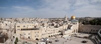 "Wailing Wall, Jerusalem, Israel by Panoramic Images - 27"" x 12"""