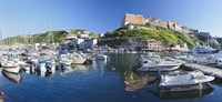 Bonifacio Harbour Corsica France