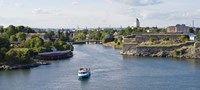 """Fortress at the waterfront, Suomenlinna, Helsinki, Finland by Panoramic Images - 27"""" x 9"""", FulcrumGallery.com brand"""