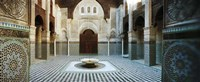 """Interiors of a medersa, Medersa Bou Inania, Fez, Morocco by Panoramic Images - 27"""" x 9"""""""