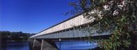 Hartland Bridge New Brunswick Canada