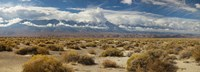 "Death Valley landscape, Panamint Range, Death Valley National Park, Inyo County, California, USA by Panoramic Images - 27"" x 9"""